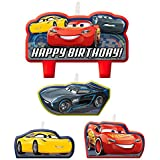 DISNEY CARS 3 Birthday Candle Set Birthday Party Supplies