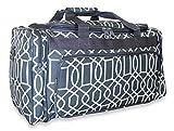 Cheap Ever Moda Geometric Duffle Bag