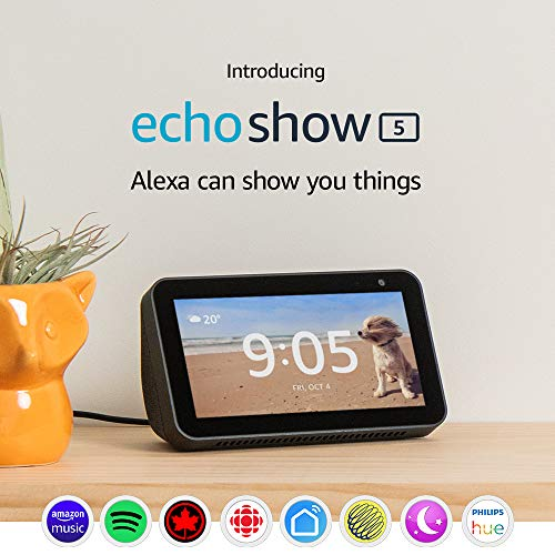 Amazon Echo Show 5 – Compact smart display with Alexa