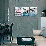 Canvas-Wall-Art3-Pieces-Framed-Wall-Art-for-Bathroom-Bedroom-Beach-Theme-Canvas-Prints-Bathroom-Wall-ArtModern-Art-Work-for-Home-Walls-Easy-to-Hang-Size-12x16-inch-Each-Panel-Bathroom-Decor-Wall-Art