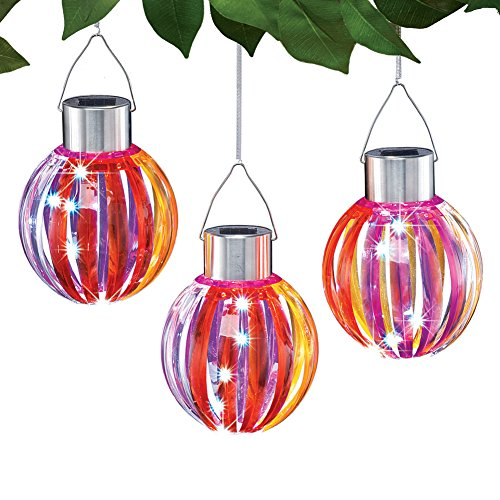 Tropical Outdoor Hanging Lights in Florida - 9
