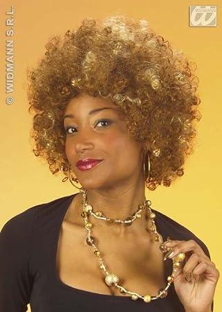 Brown Foxy Cleopatra Afro Wig Austin Powers Beyone Fancy Dress  sc 1 st  Amazon UK & Brown Foxy Cleopatra Afro Wig Austin Powers Beyone Fancy Dress ...