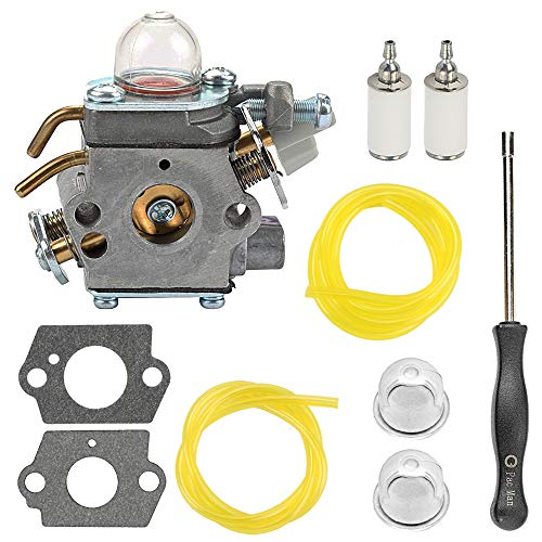 Mckin 309368003 Carburetor fits Ryobi S430 RY34440 RY13010 RY34420 RY13015 RY64400 RY34000 30CC 4 Cycle Trimmer 309368001