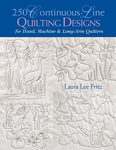 250 Continuous-Line Quilting Designs: For Hand, Machine & Long-Arm