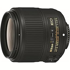 Nikon 35mm f/1.8G ED AF-S FX NIKKOR Lens