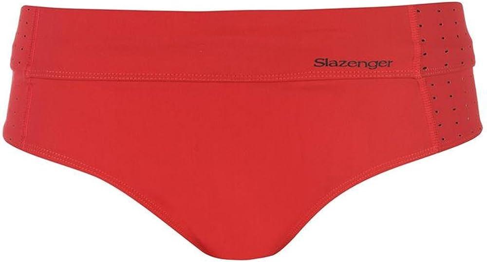 Slazenger/ Womens Zip Bikini Set Wide Elasticated Waistband