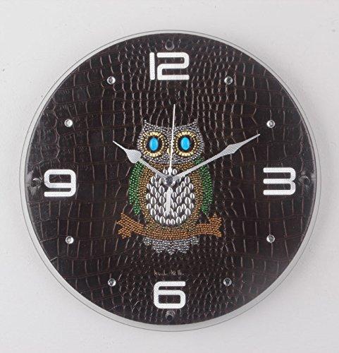 ふくろう掛け時計YD310B B0158M8O16