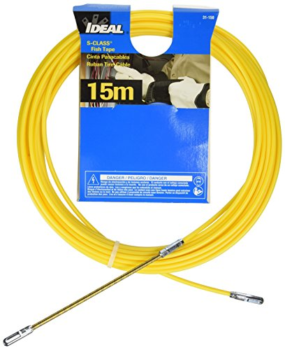 Ideal 31-150 S-Class Fish Tapes with Leader End Type, 50' Length by Ideal