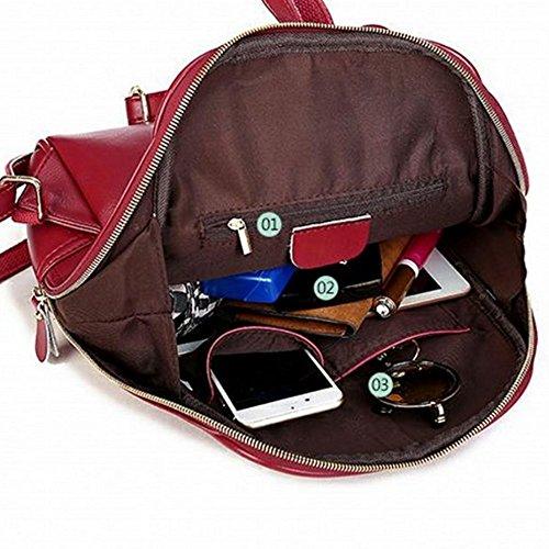 épaule Messenger main PU Élégant à à Femme dos Sac Mode Sac Sac vqA1PA