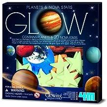 4M Glow Planets and Nova Stars