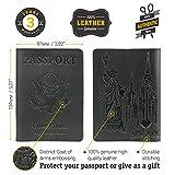 Shvigel Passport Holder Passport Cover - Leather