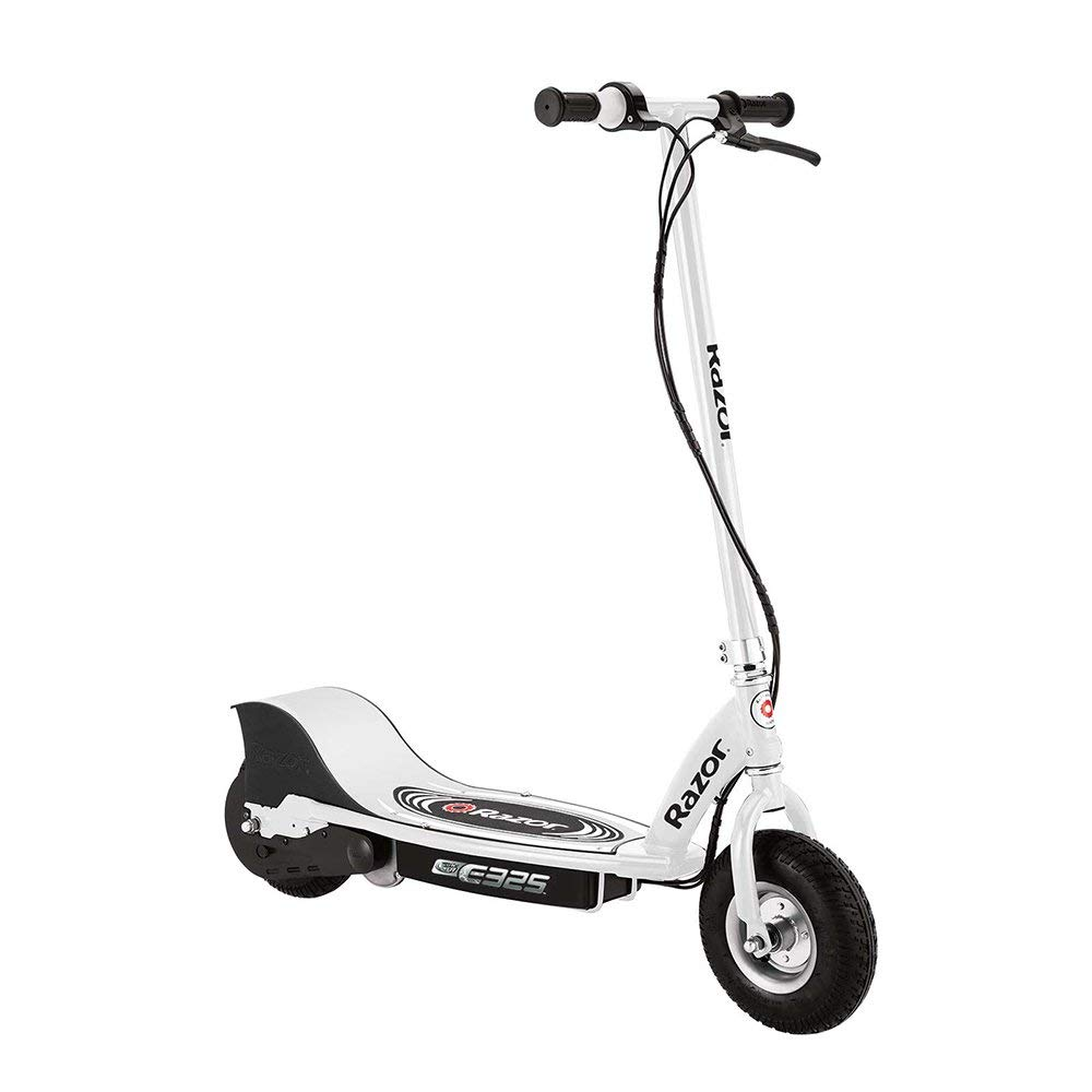 Razor E325 Electric Battery 24 Volt 15 MPH Motorized Ride On Kids Scooter, White by Razor