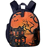 Ugift Funny Print Halloween Scary Scene 2-6 Child Book Bag Birthday Gift Prize Schoolbag