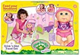 Cabbage Patch Kids Drink N' Wet Travel Set Doll
