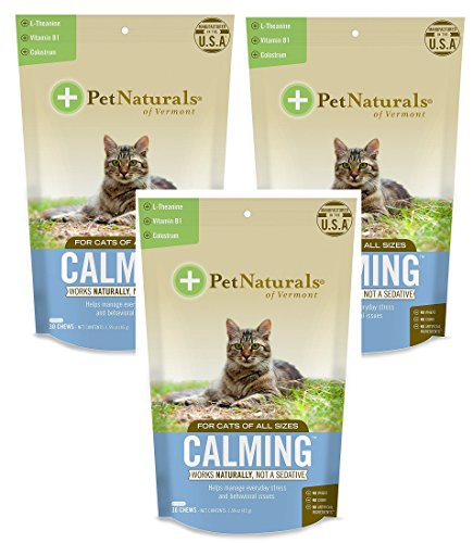 ((3 Pack) Calming Supplements for Cats)
