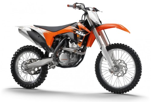 KTM 350 SX-FGP11 Scale 1:12 Alloy Diecast Car Motorcycle Moto Model, Orange
