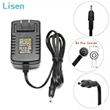 Lisen 12V AC/DC Adapter Wall Charger Home Power for Acer Iconia Tab Tablet A100 A101 A200 A210 A500 A501; W3 W3-810; Aspire Switch 10 SW5-011 SW5-012; Ak.018ap.027 Lc.adt0a.024 Power Supply Cord