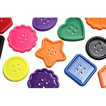 Large plastic button lacing Toy - Toddler Lacing, First Lacing, OT, Jumbo Large Beads, Montessori Kids