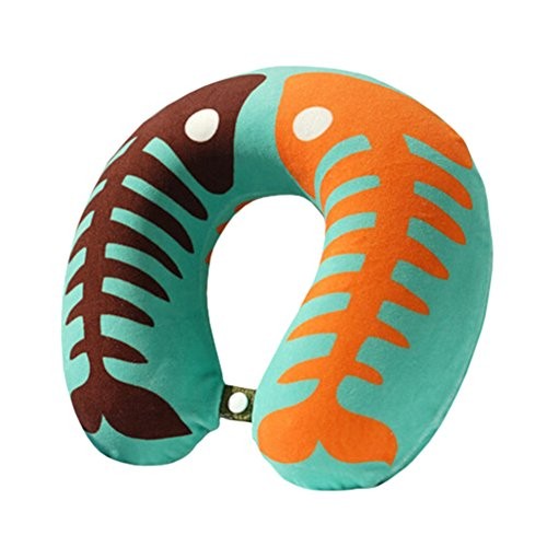 healthy-neck-pillow-detachable-u-shape-pillow-home-office-neck-protector-fishes