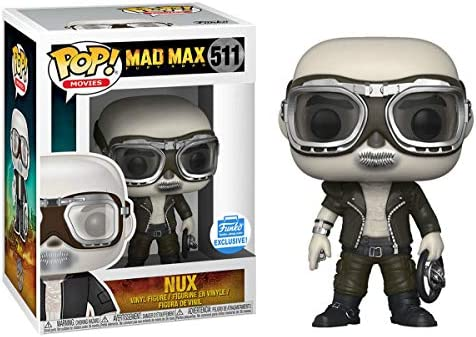 Funko Pop Movies: Mad Max Fury Road Nux Exclusive Funko Shop