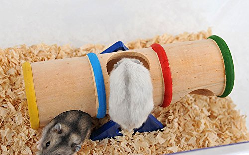 SANNYSIS-Hamster-Seesaw-Cage-Wooden-House-Hide-Play-Toys-For-Rat-Mouse-Mice-168x78x10cm