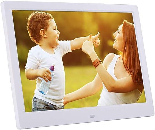 Marco de Fotos Digital de 12 Pulgadas con Sensor de Movimiento Pantalla IPS HD 16: 9 de Alta resolución 1280x800 para Foto/música/Video/Calendario/Despertador: Amazon.es: Hogar