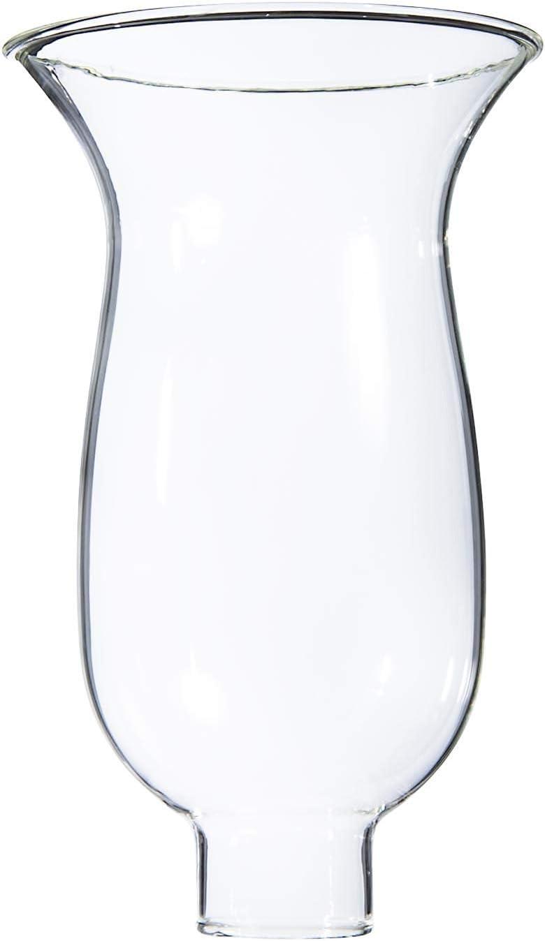 "B&P Lamp Royal Craft 1 5/8"" X 8 1/4"" Clear Hurricane Shade"