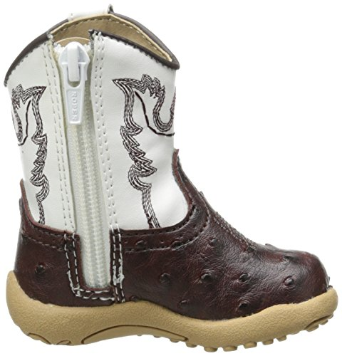 Pictures of Roper Cowbaby Ostrich Western Boot (Infant/Toddler) 3