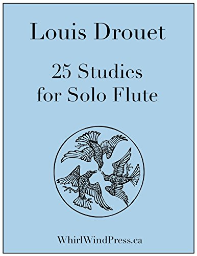 Louis Drouet: 25 Studies for the Flute (25 Flute Etudes) New Edition