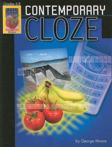 Download Contemporary Cloze, Grades 6-8 ebook