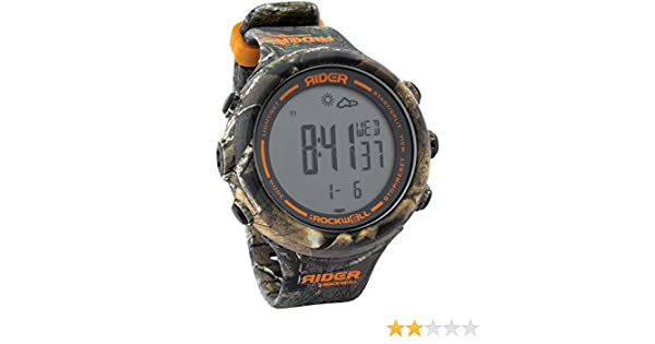 Amazon.com: Rockwell Time Iron Rider 2.0 Mens Digital Sport Watch in RealTree Xtra, Camo: Sports & Outdoors