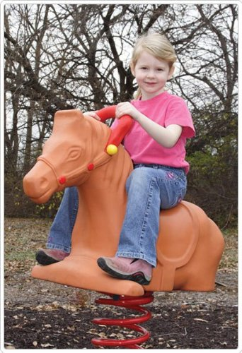 Spring Riders Playground Equipment (Sport Play 902-773 Horse Spring Rider)