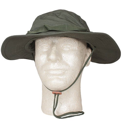 Fox Outdoor Products Boonie Hat, Olive Drab Ripstop, Size 7