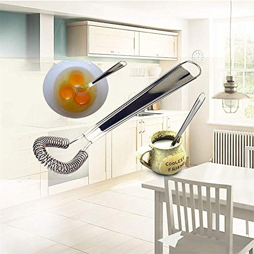 Hot Sale!DEESEE(TM)Whisk Hand Egg Beater Stainless Steel Miracle Cream Mixing Tool Kitchen Tools