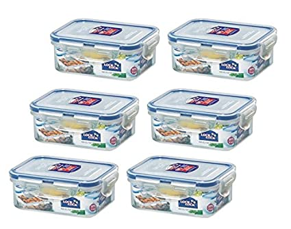 Amazoncom LOCK LOCK Airtight Rectangular Food Storage Container