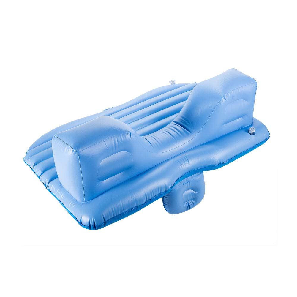 xyz-home Travel Inflatable Mattress Air Cushion Car Backseat Bed Rest w. Pillow Pump O64716