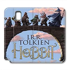 iCustomonline Leather Case for Samsung galaxy Note 3, The Hobbit Stylish Durable Leather Case for Samsung galaxy Note 3
