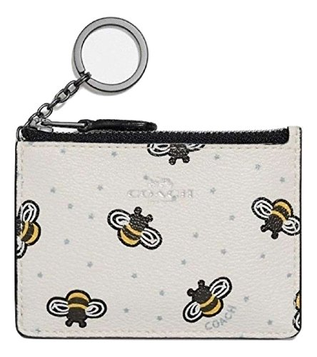 COACH Mini ID Skinny With Limited Edition Bee Print