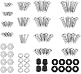 "VIVO Universal TV and Monitor Mounting VESA Hardware Kit Set includes M4 M5 M6 M8 Screws, Washers, Spacers | Assortment Pack Fits Most Screens up to 80"" (MOUNT-TVWARE)"