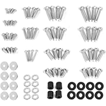 """VIVO Universal TV and Monitor Mounting VESA Hardware Kit Set includes M4 M5 M6 M8 Screws, Washers, Spacers   Assortment Pack Fits Most Screens up to 80"""" (MOUNT-TVWARE)"""