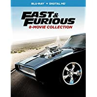 Fast and Furious: 8-Movie Collection on Blu-ray with 9 Discs