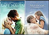 The Notebook + Safe Haven Romance Movies DVD Nicholas Sparks Double Feature