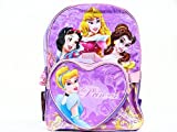 Princess Backpack Large Book Bag Kids Size with a Small Cinderella Bag, Bags Central