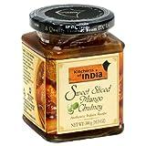 Kitchens Of India Sweet Sliced Mango Chutney (6x10.5 OZ)