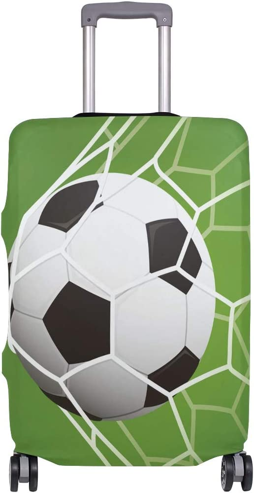 Baggage Covers Football Goal Soccer Sport Washable Protective Case