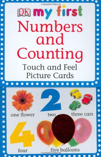 My First Touch and Feel Picture Cards Numbers and Counting