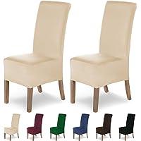 SCHEFFLER-Home Lena 2 Fundas de sillas, Estirable Cubiertas