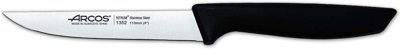 Schwarz Pinienholz rostfreier Stahl Nitrum One Size Polyoxymethylen Arcos 815000 K/üchenmesser-Set