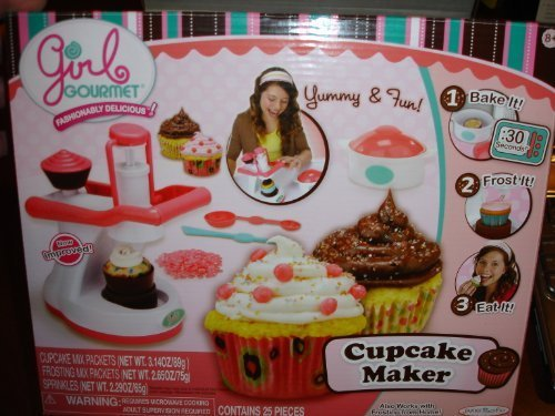 Girl Gourmet Cupcake Bakery Cupcake Maker by Jakks Pacific