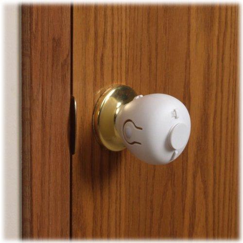Mommy's Helper Door Knob Safety Cover, 4 Pack 4 Door Access Cover